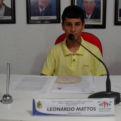 Leonardo Mattos - 1º Secretário