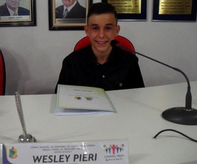 Weslei Pieri - 2º Secretário