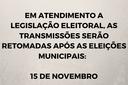 Câmara de Zortéa suspende transmissão ao vivo no período eleitoral