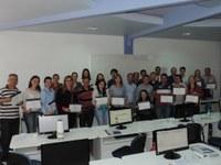 Interlegis certifica alunos que participaram dos cursos de Portal Modelo e SAPL em Erechim (RS)