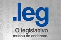 O Legislativo mudou de endereço, agora é .LEG.BR