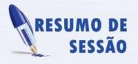 Sessão Ordinária de 22 de março de 2018