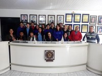 Visita dos alunos do Segundo ano da Escola Major